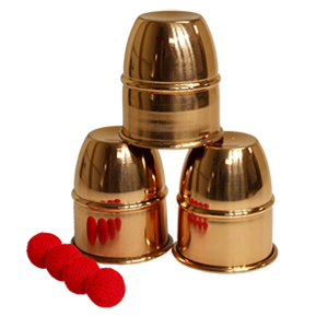 Cups & Balls Copper by Premium Magic