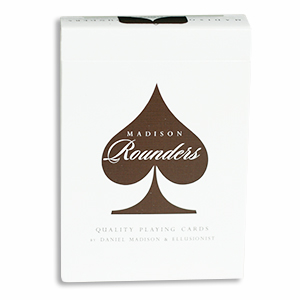 Madison Rounders Cards - Brown
