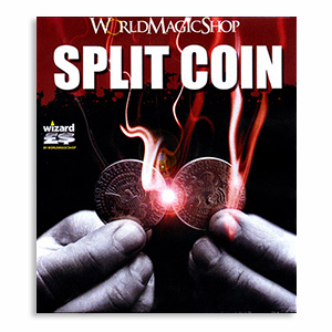 Split Coin (US Half Dollar Coin)