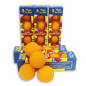 Super Soft Sponge Balls Orange 5cm