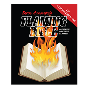 Flaming Book Bible - Steve Lancaster