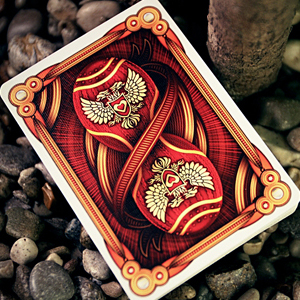 Red Imperial Playing Cards