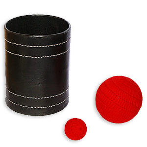 Leather Chop Cup - Jumbo