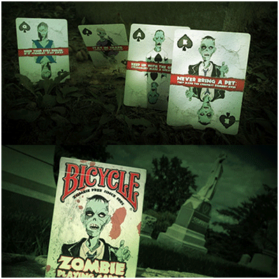 Bicycle zombie deck for Zombie balcony