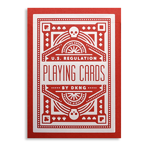 Red Wheel Playing Cards