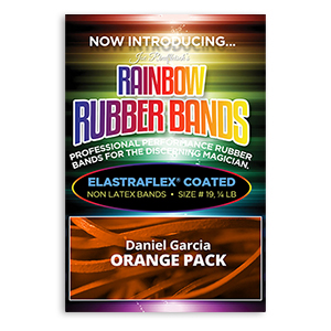 Joe Rindfleisch's Rainbow Rubber Bands Orange