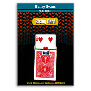 Rising Card (Red) by Henry Evans