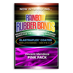 Joe Rindfleisch's Rainbow Rubber Bands Pink