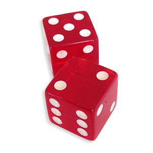 Loaded Dice Red