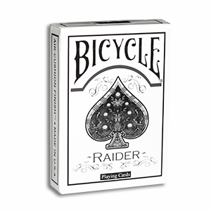 Raider Bicycle Deck White