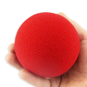 Super Soft Sponge Ball Röd 10cm
