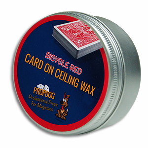 Card on Ceiling Wax 15g Red