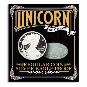 Regular Coin, Silver Eagle Proof by Unicorn
