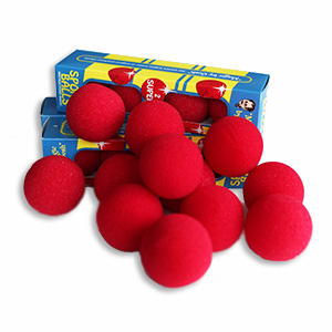 Super Soft Sponge Balls Röda 50-Pack