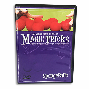 Amazing Easy To Learn Magic - Sponge Balls Combo