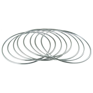 "Chinese Linking Rings 8"" - Stål"