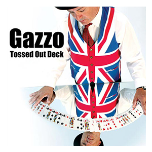 Gazzo Tossed Out Deck Red by Gazzo