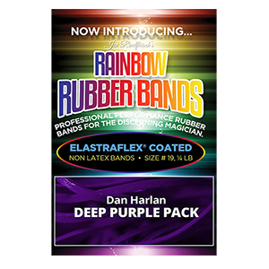 Joe Rindfleisch's Rainbow Rubber Bands Purple