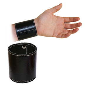Leather Chop Cup - Folding