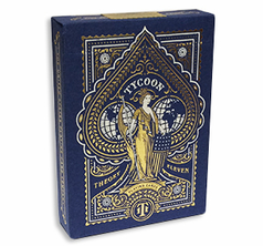 Tycoon Playing Cards Ming Blue