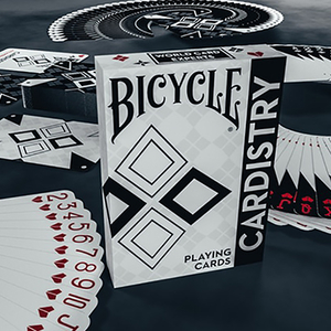 Bicycle Cardistry Black and White Playing Cards