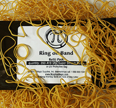 Refill Bands for Pi: Ring on Band by Michael Scanzello