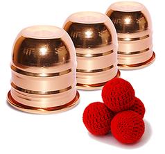 Cups and Balls Mini - Koppar Finish