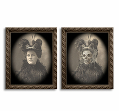 Changing Portrait - Aunt Tilly