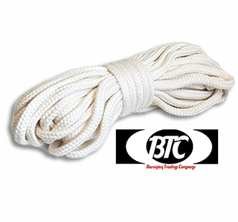 BTC Parlor Rope 15 m White BTC3 - 10mm No Core