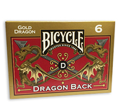 Bicycle Dragon Back Gold 6-Pack