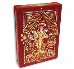 Tycoon Playing Cards Crimson Red
