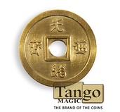 Dollar Size Chinese Coin (Brass) by Tango