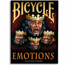 Bicycle Emotions Deck 1st Run