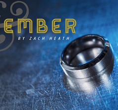 Ash and Ember Silver Beveled Size19mm