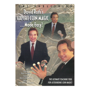 David Roth Expert Coin Magic Made Easy 3 DVD - Download