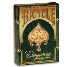 Bicycle Elegance Deck Emerald