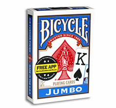 Bicycle Jumbo Index Blå