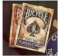 Marked Vintage 1800 Deck - Blå
