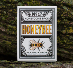 Honeybee V2 Playing Cards Black