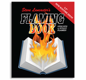 Flaming Book Magic (Blank) - Steve Lancaster