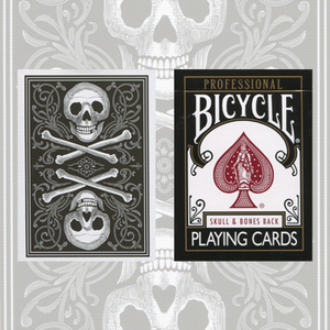 Skull and Bones Deck Black