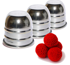 Cups and Balls Mini - Aluminium