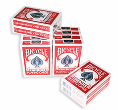Bicycle Kortlek Röd 12-pack