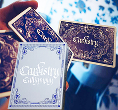 Cardistry Calligraphy Blue