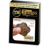 Pull Coin Half Dollar by Tango