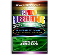 Joe Rindfleisch's Rainbow Rubber Bands Green