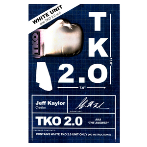TKO 2.0 Gimmick only (white) by Jeff Kaylor