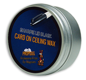 Card on Ceiling Wax 15g Sharpie Lid Black