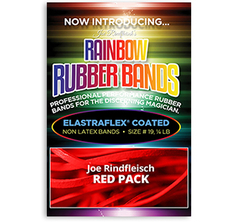 Joe Rindfleisch's Rainbow Rubber Bands Red