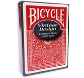 Bicycle Vintage Design Tanget Back